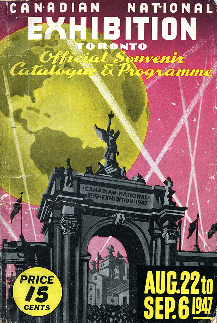 CNE Programme Cover, 1947