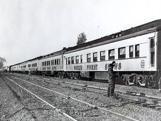 Conklin Shows Train, 1940