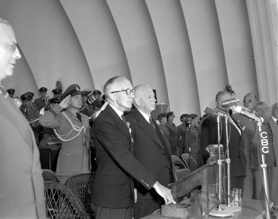 Vincent Massey Opens The CNE, 1952