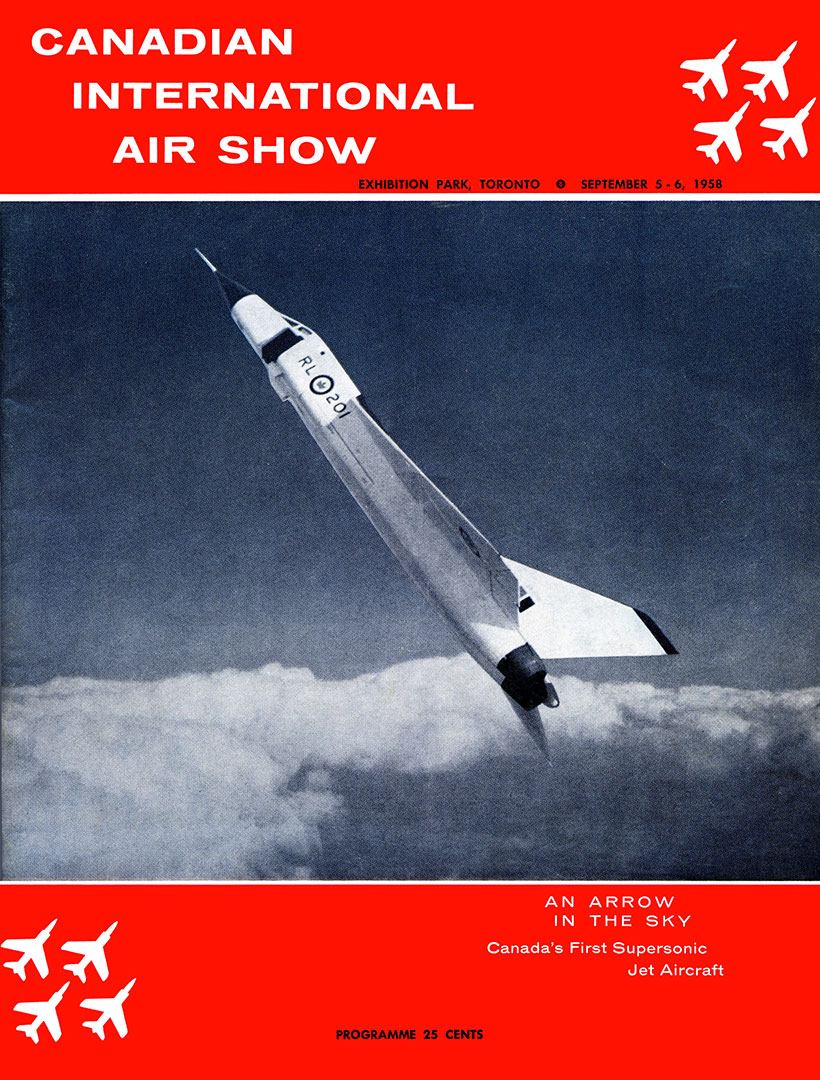 1958 Air Show Programme Cover