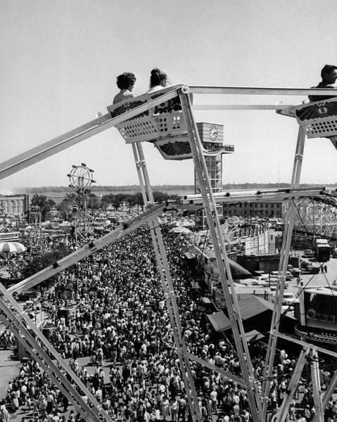 On Top Of The Ferris Wheel, 1956