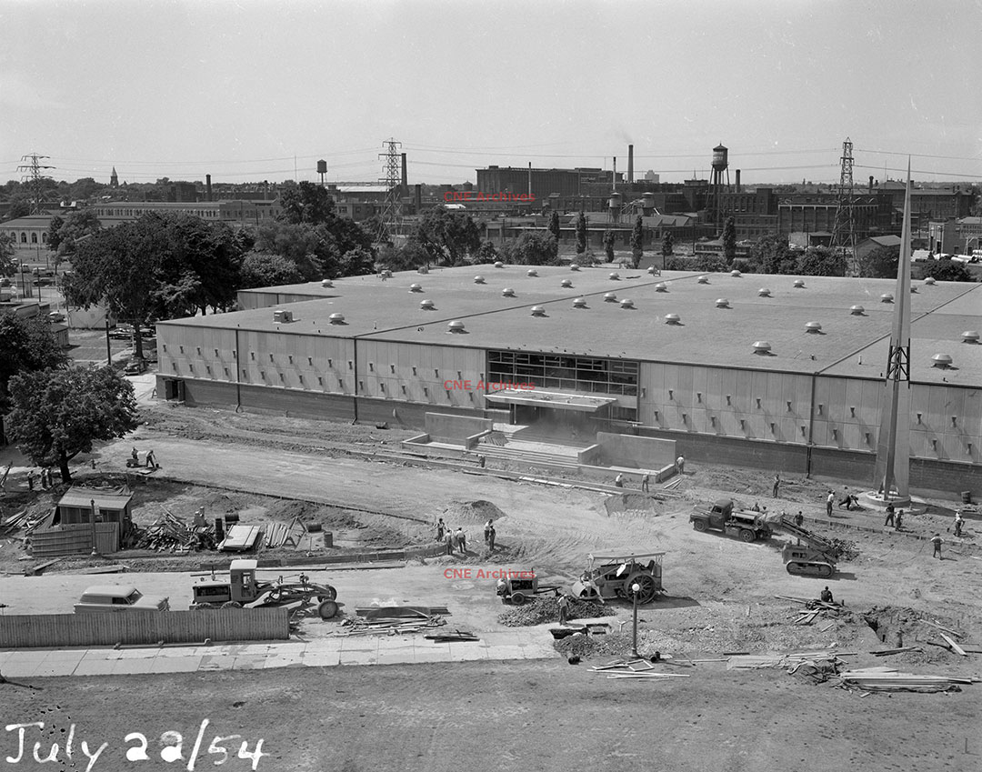 Food Building Construction, 1954