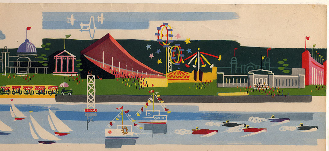 CNE Poster, 1951