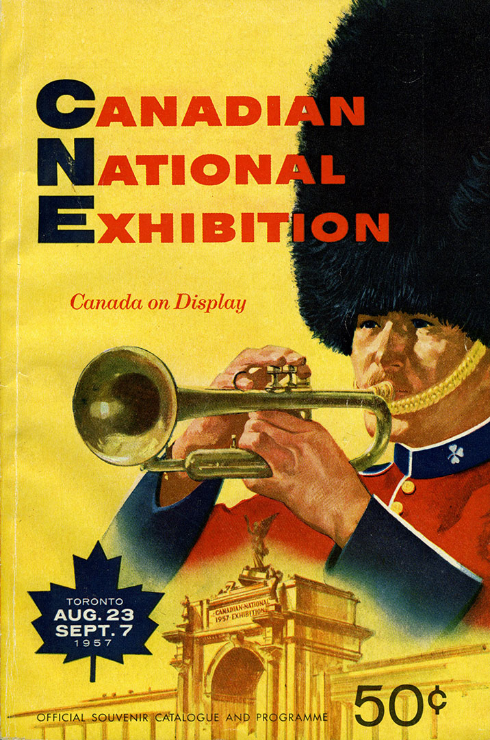 CNE Programme Cover, 1957