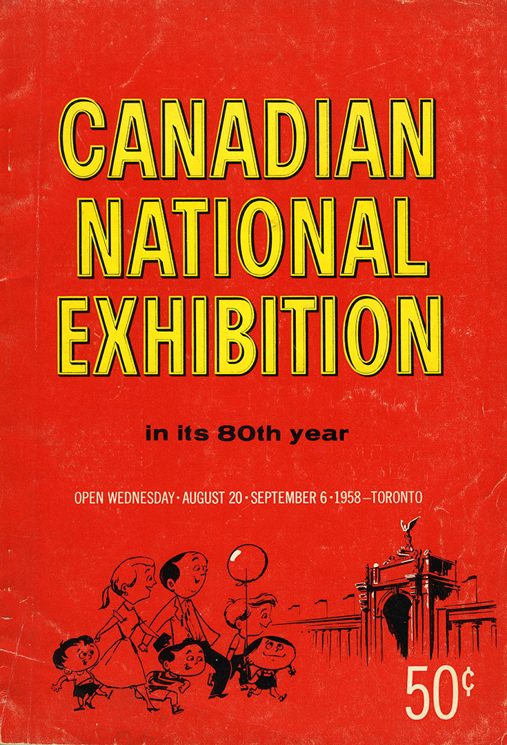 CNE Programme Cover, 1958