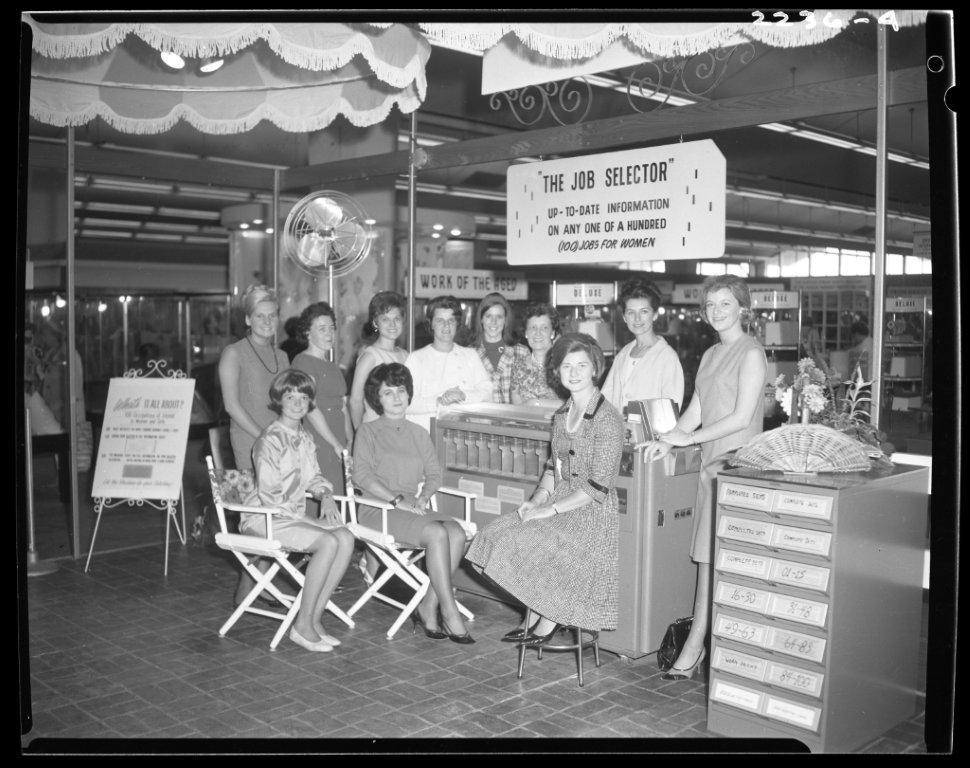 100 Jobs For Women Display @ The CNE ca. 1960s