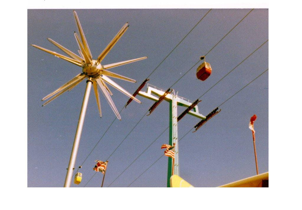CNE Alpine Way With Starburst, ca. 1967