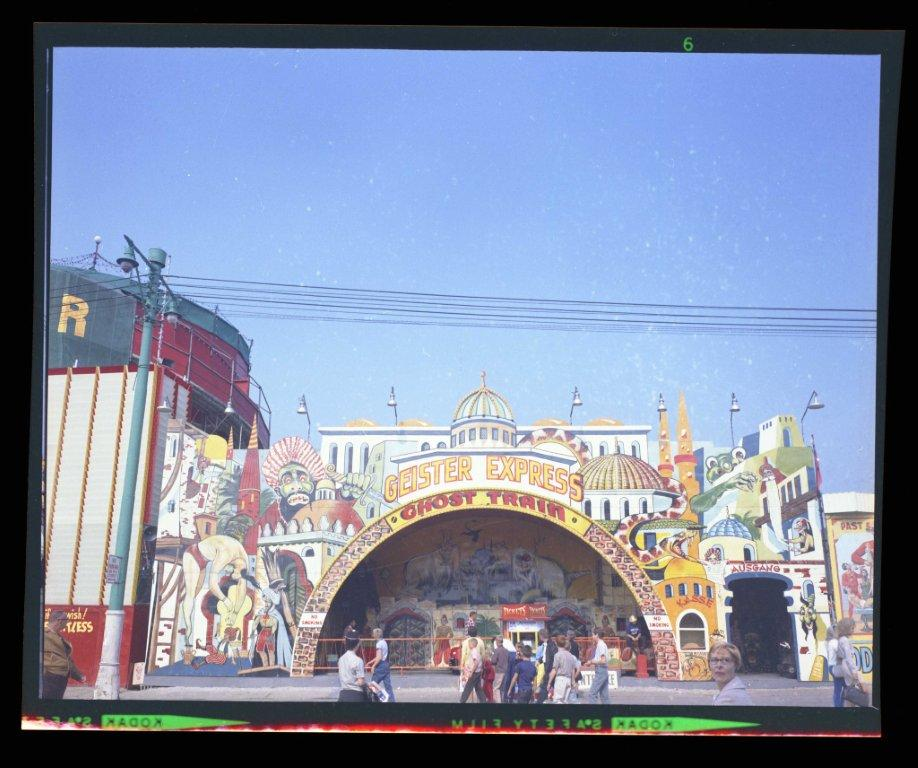 Ghost Train In CNE Midway, ca. 1960s