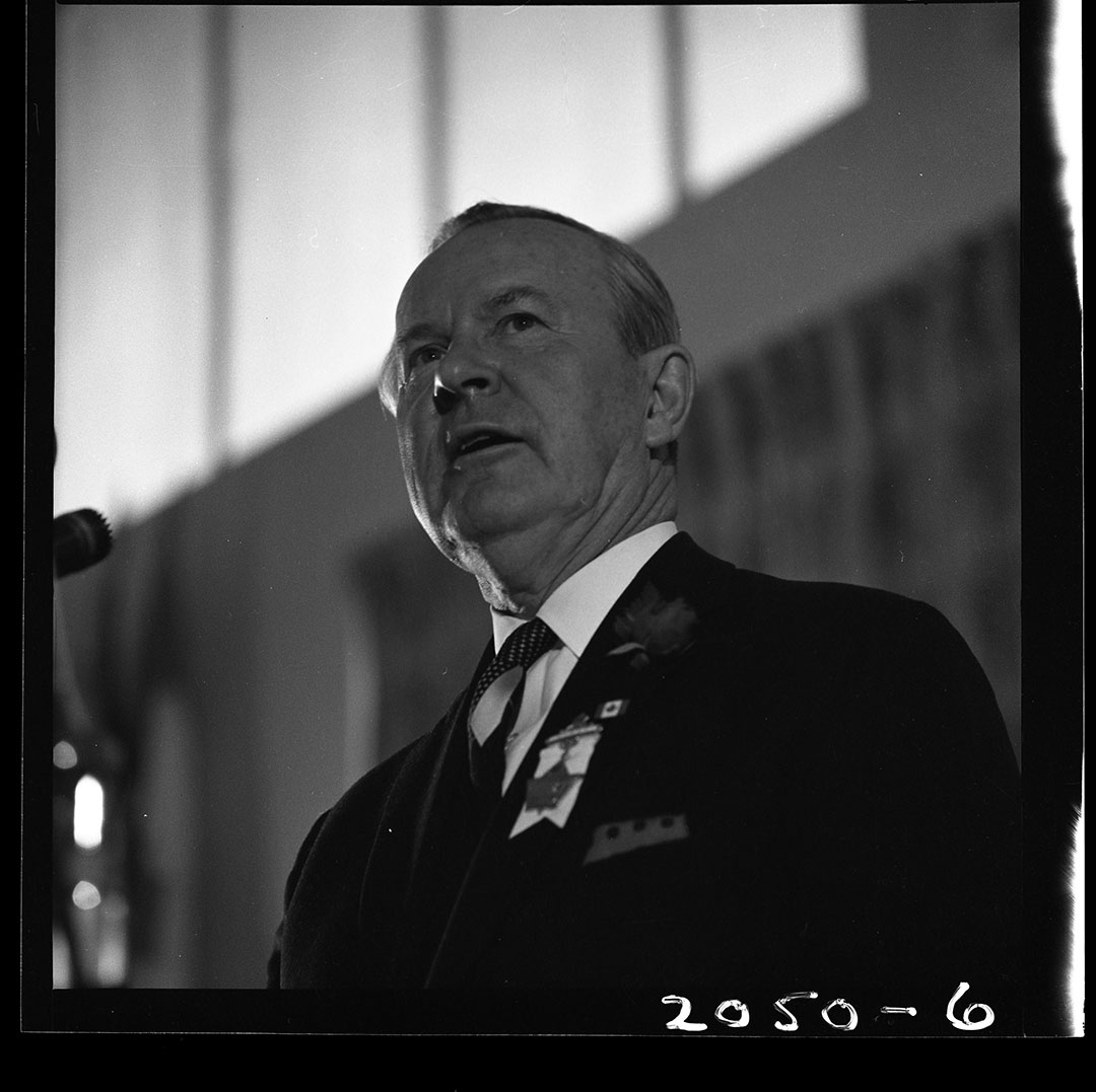 Prime Minister Lester B. Pearson At The CNE, August 21, 1965