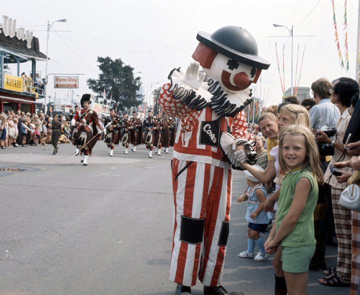 Conko The Clown Bonds With CNE Visitors In 1967