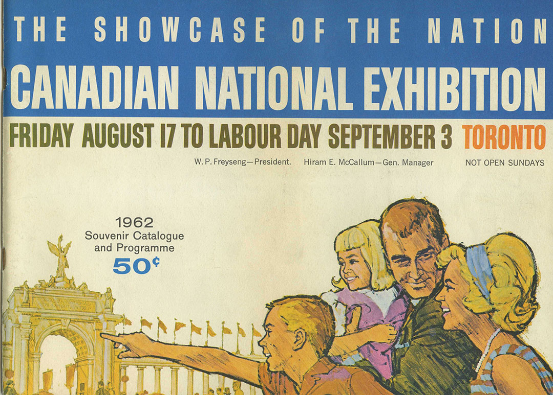 CNE Programme Cover, 1962