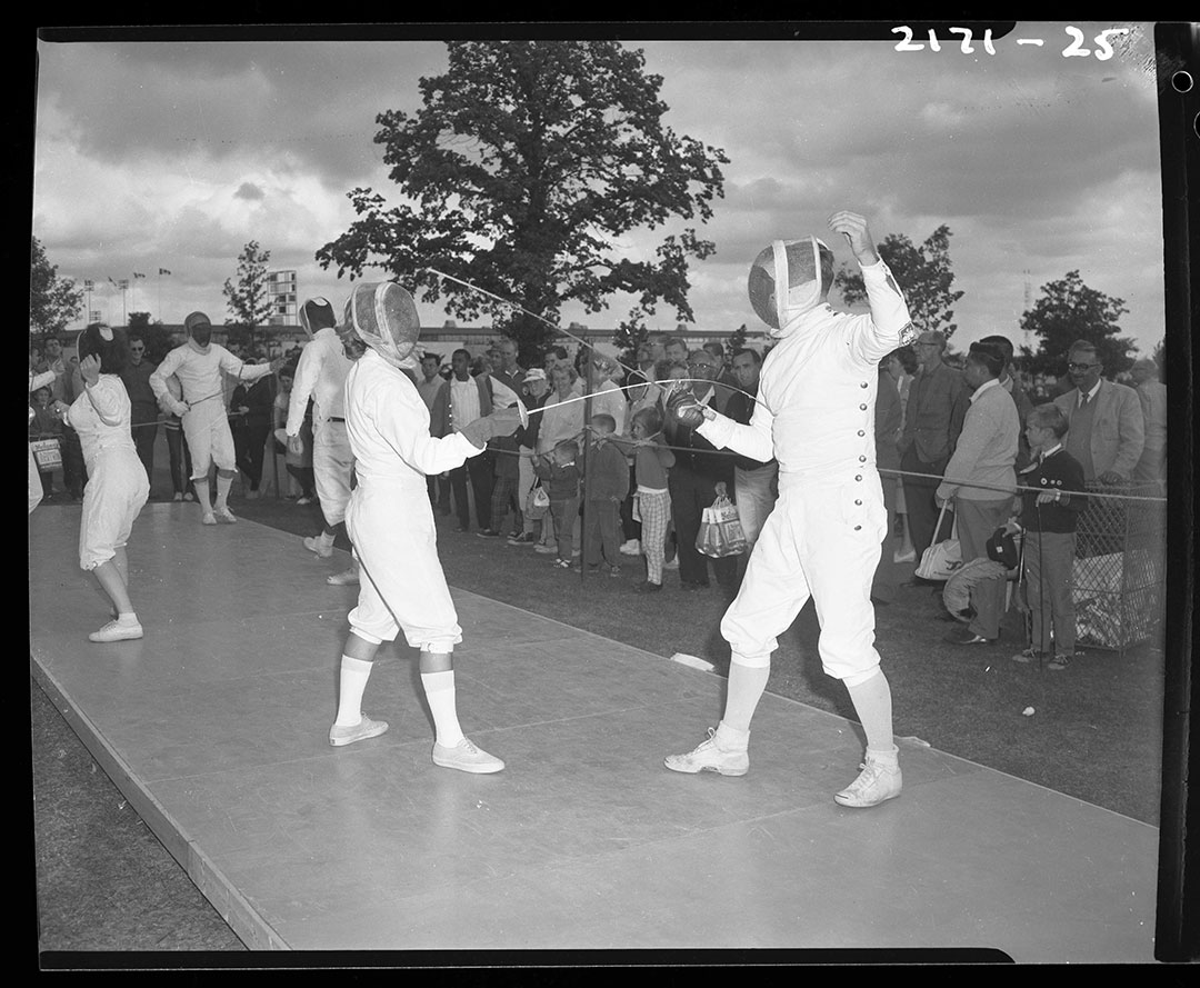 Fencing At The CNE In The 1960s
