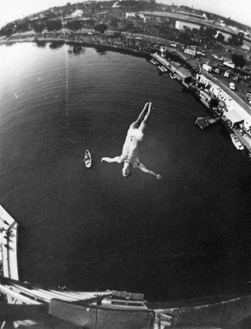 High Dive At The CNE, 1960