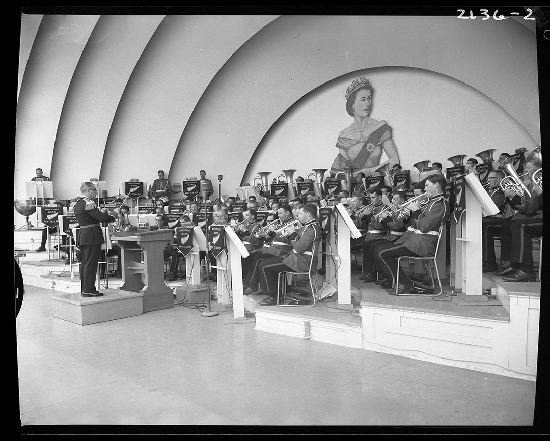 The New Zealand Band @ The Bandshell, ca. 1960s