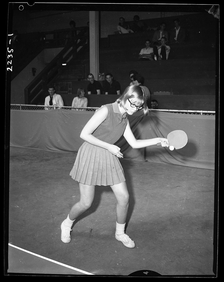 Ping Pong Match At The CNE, ca. 1960s
