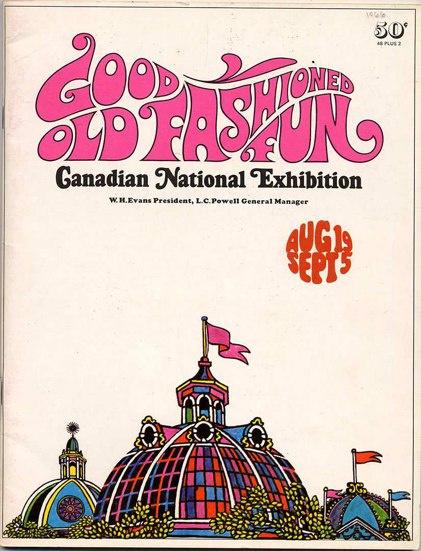 Programme Guide Cover, 1966