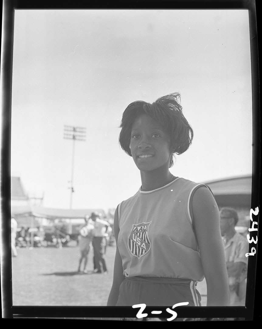 USA Athlete At The CNE, ca. 1960's