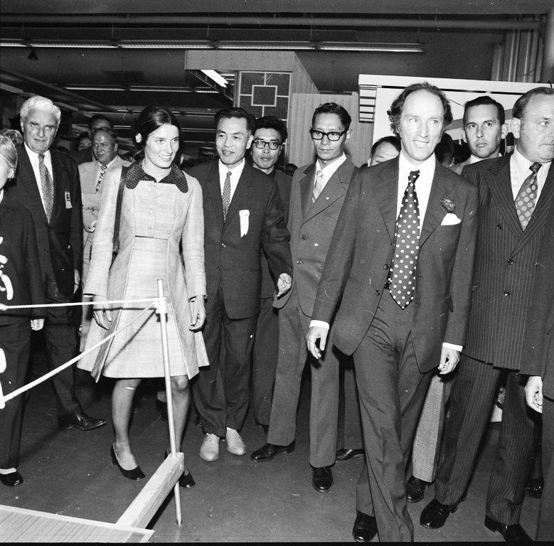 Pierre And Margaret Trudeau At The CNE In 1972