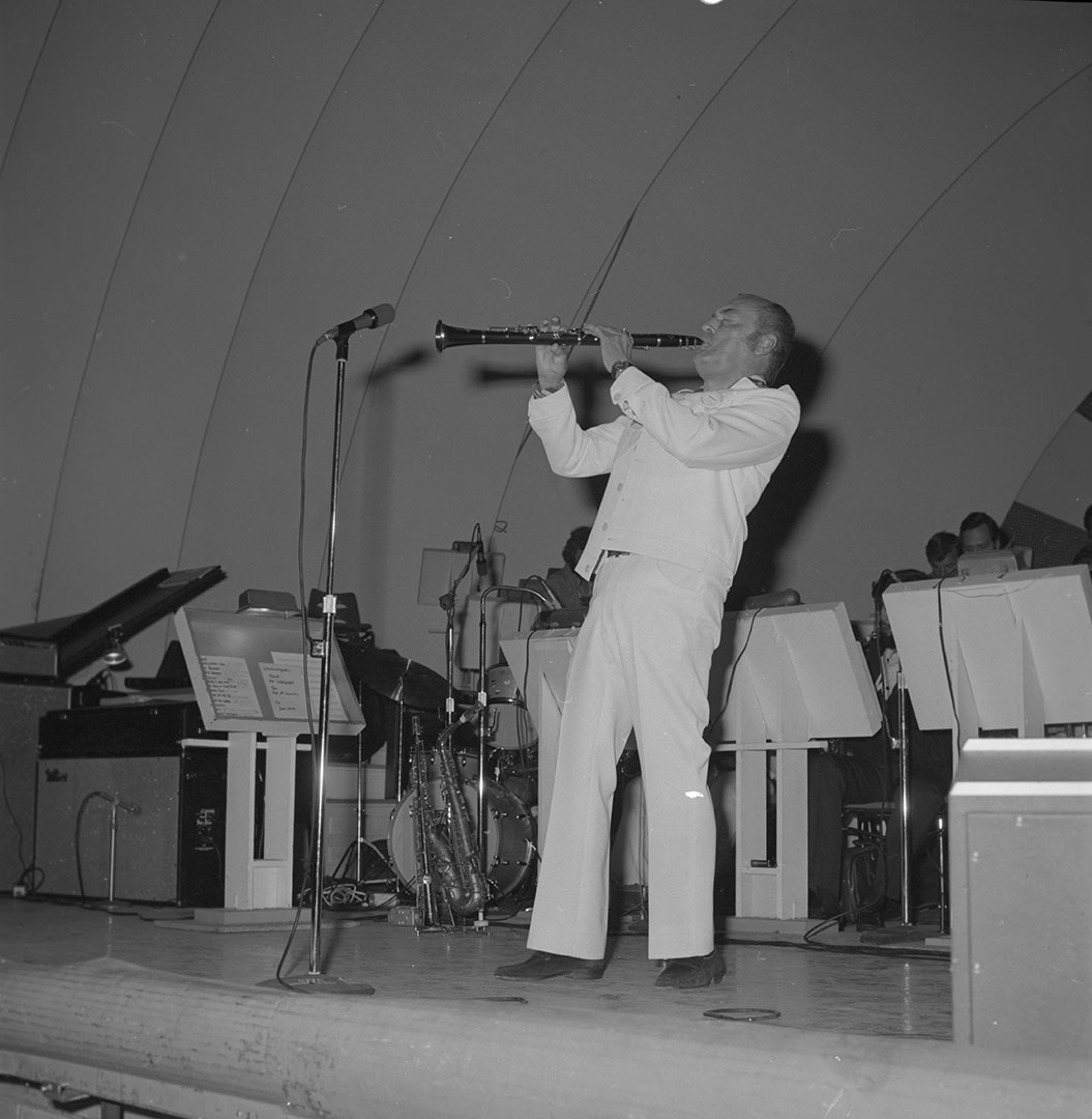 Woody Herman At The CNE Bandshell, 1975