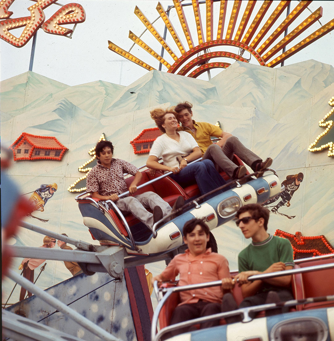 Enjoying The CNE Midway In The 1970's