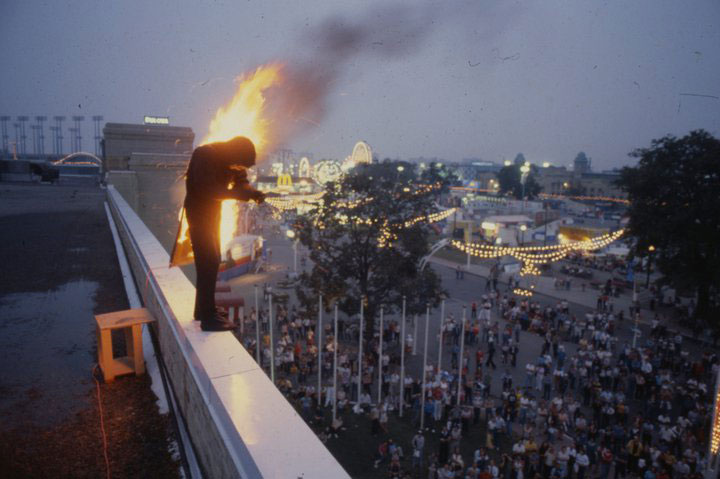 Playing With Fire At The CNE In 1981