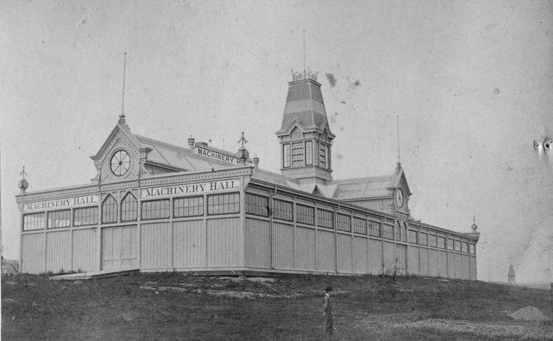 Machinery Hall, ca. 1878