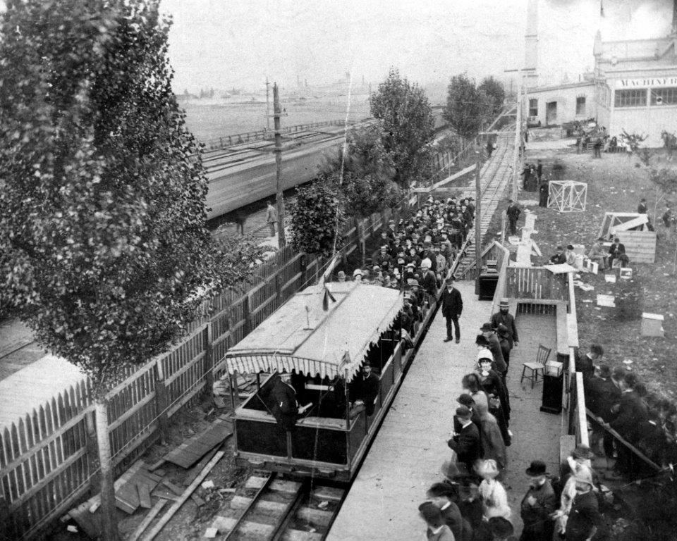 1884 Electric Railway @ The CNE