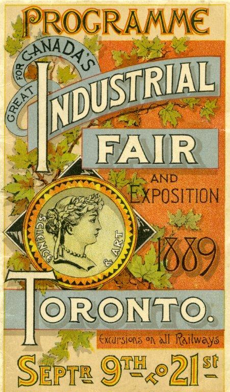 1889 Programme Cover