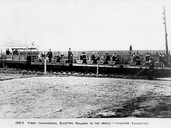 First Commercial Electric Railway, 1883