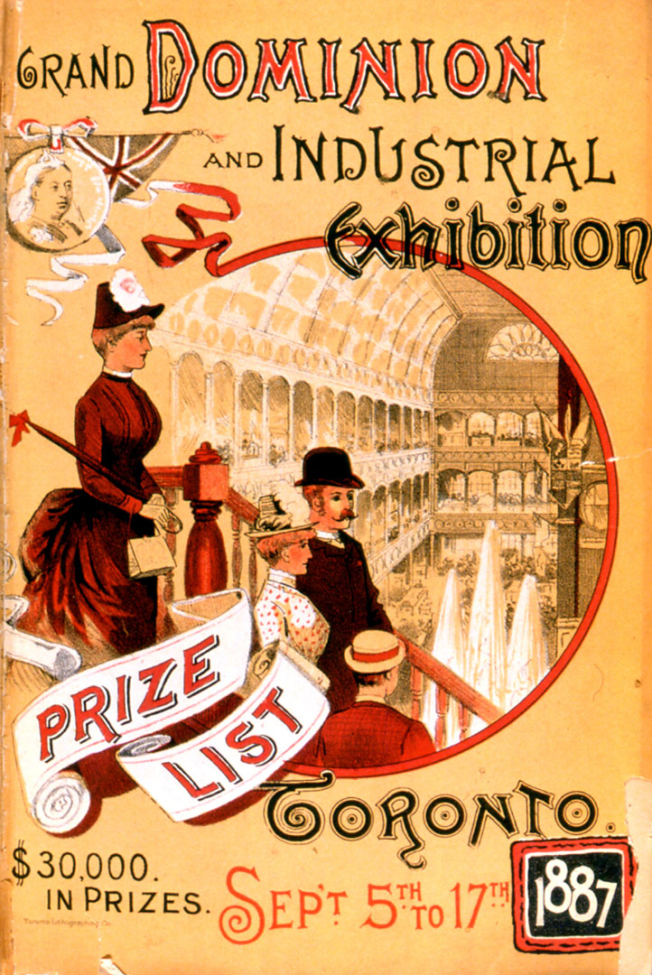 1887 Prize List Front Cover