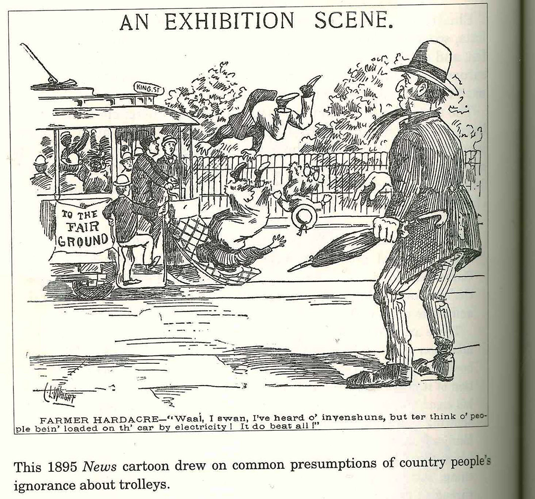 1895 News Cartoon