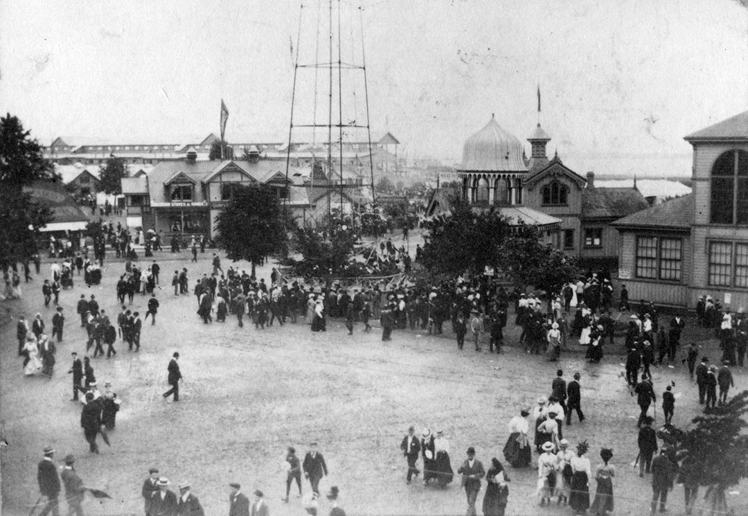 The Fair Grounds In 1895