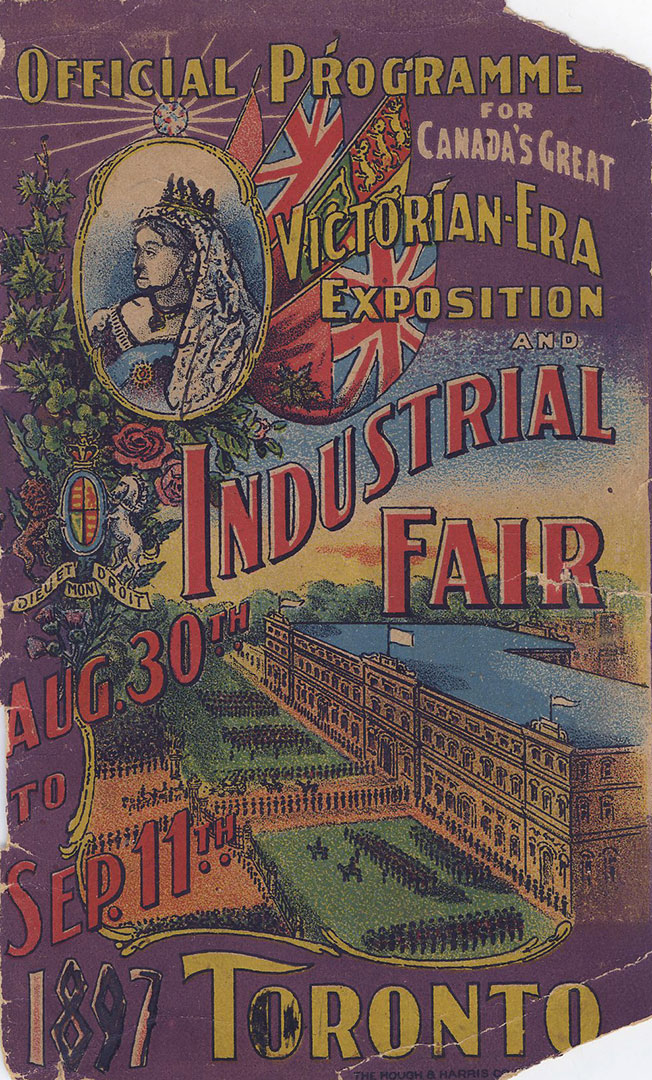 1897 Programme Front Cover