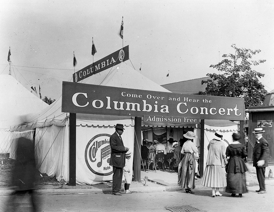 Columbia Record And Gramophone Exhibit circa 1916/17
