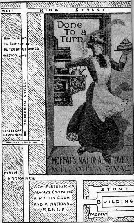 Moffat's National Stoves Ad In Exhibition Programme, 1903
