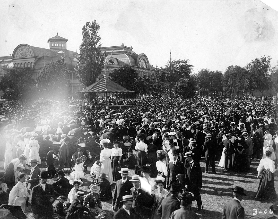 Crystal Palace Band Stand Crowds, 1906