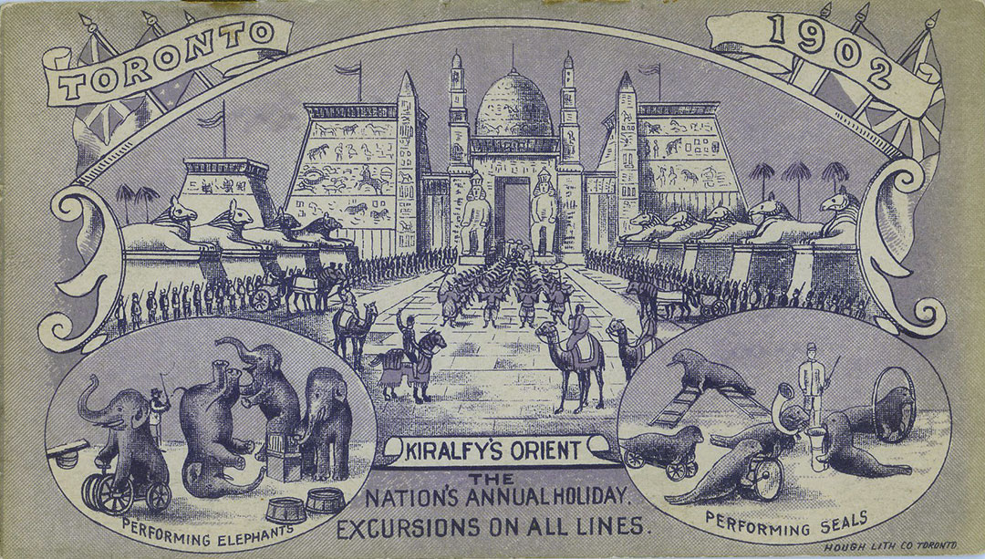 Programme Cover, 1902