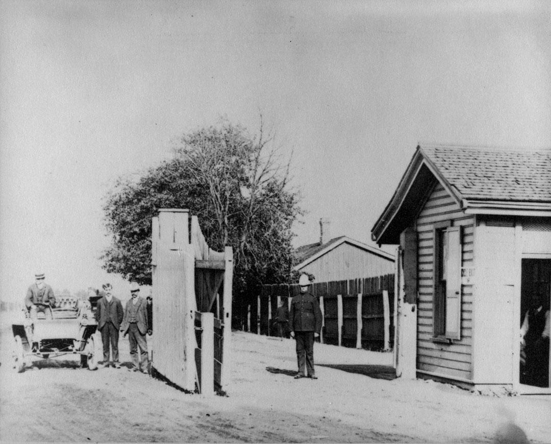 East Entrance To The Exhibition In 1904