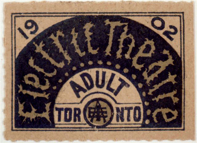 Ticket To The Electric Theatre, 1902