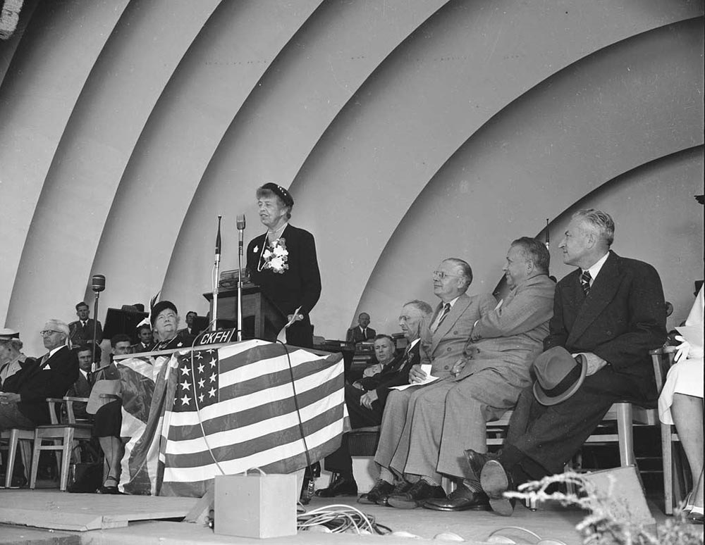 Eleanor Roosevelt Opening The CNE In 1951