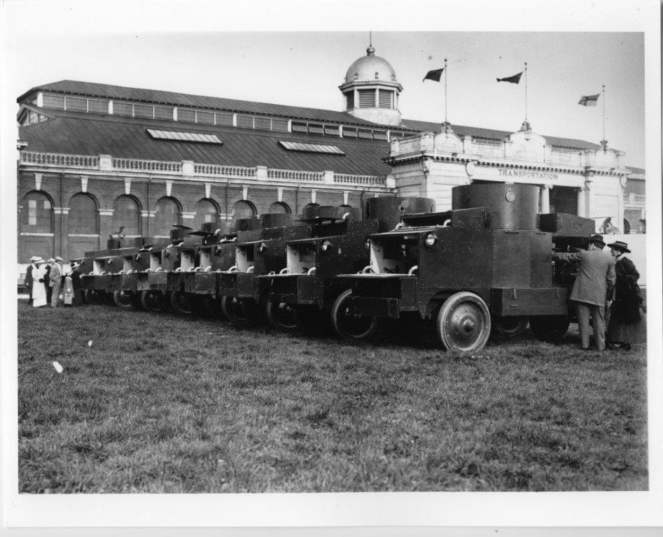 Tanks @ The CNE During The Great War; ca. 1915