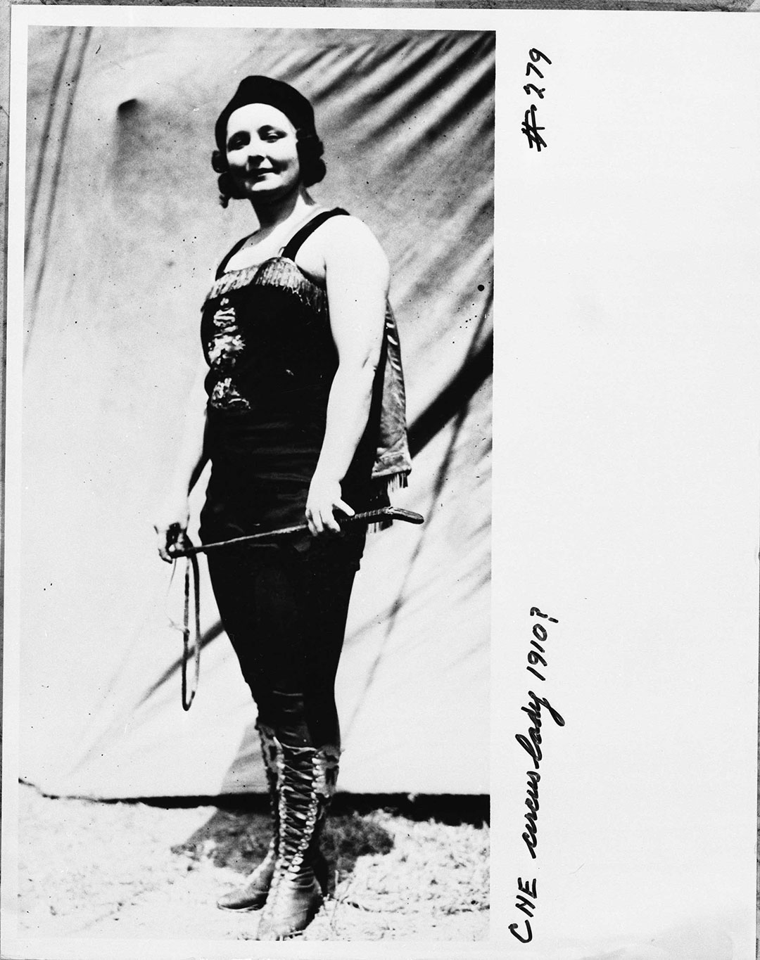 Midway Circus Performer, 1910