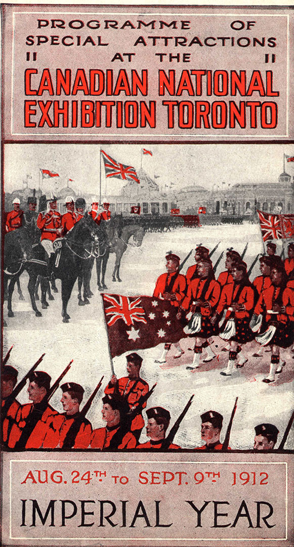 1912 CNE Programme Cover