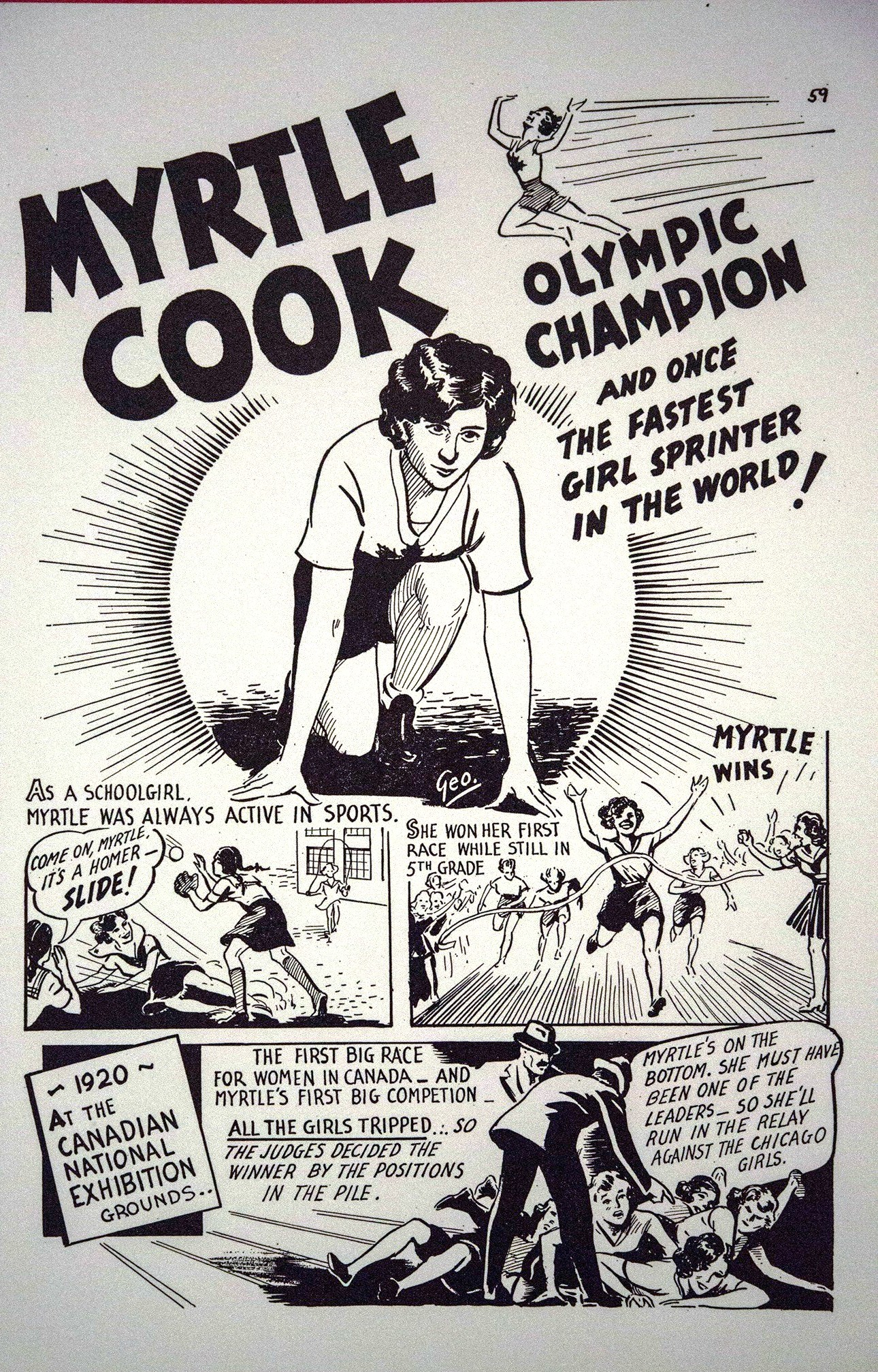 Myrtle Cook: Olympic Champion