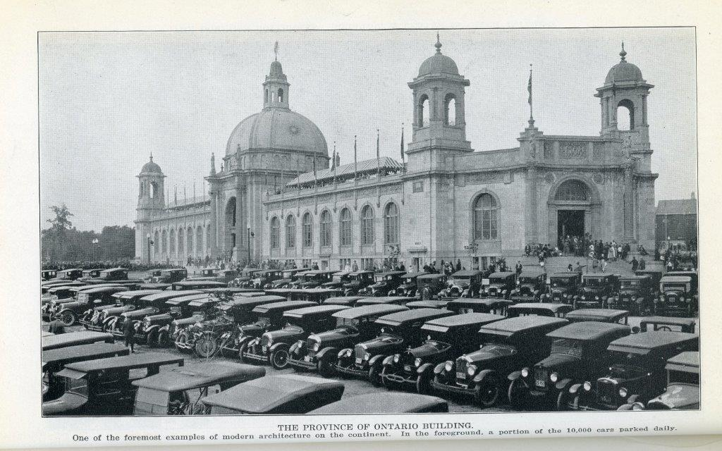 The Ontario Building In 1929 CNE Programme