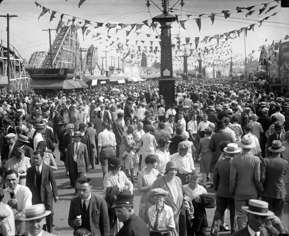 CNE Midway, ca. 1928