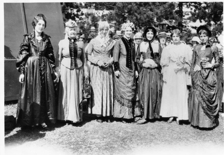 Women Dressed In Period Costumes @ The 1927 CNE