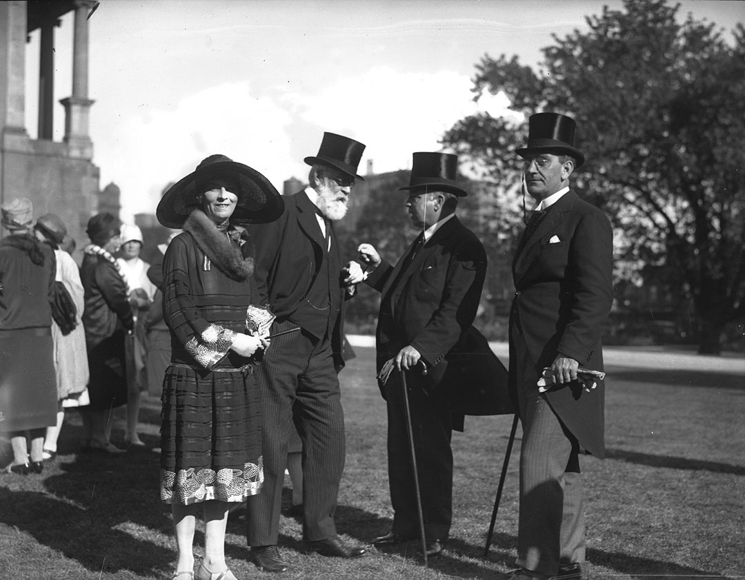 The Prime Minister With Guests @ The CNE, 1927