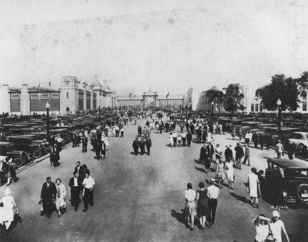 Looking Towards The Princes' Gates, 1929