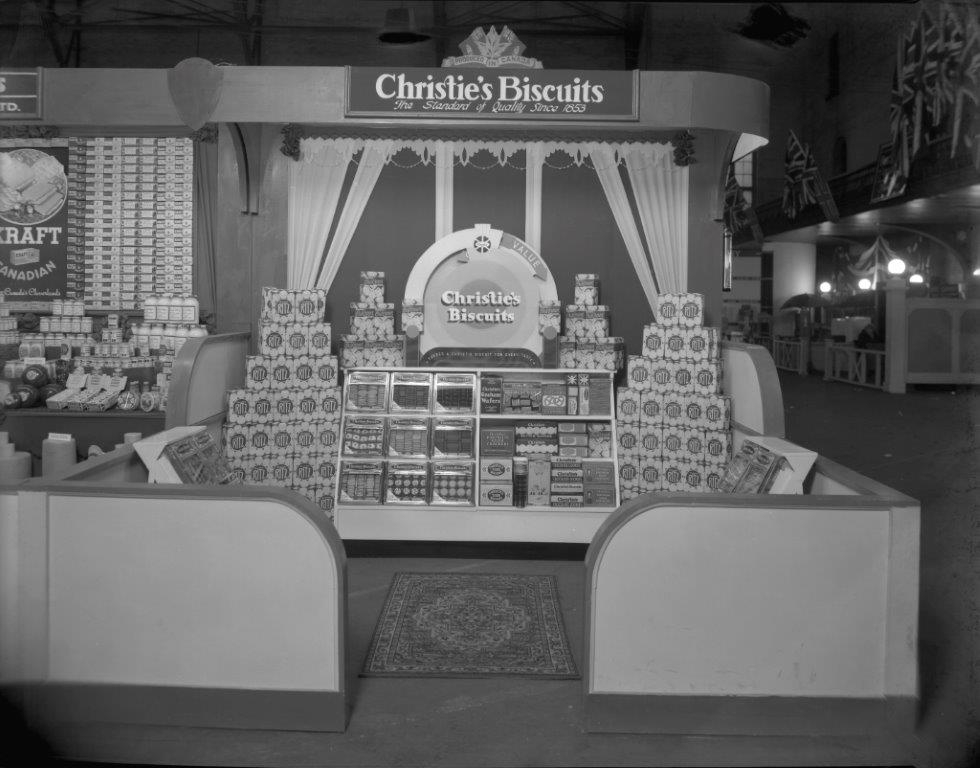 Christie's Biscuits Display @ The 1936 CNE